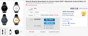 Deal: Perhaps your last chance to score an LTE-ready Wear24 smartwatch for just $80