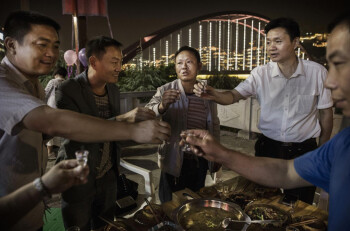 Drinking is an important social skill in China