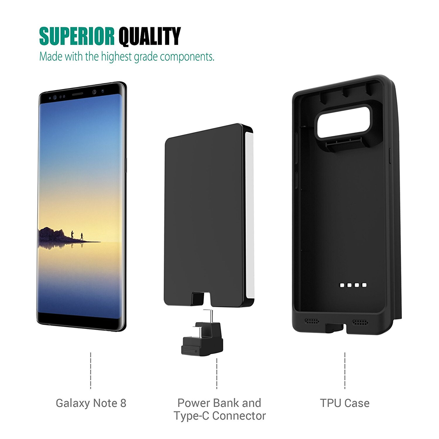 info for 9cae7 c5d44 best battery case for samsung note 8
