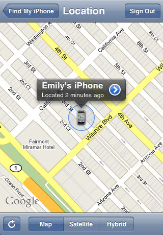 """'Find My iPhone"""" app allows you to remotely wipe or locate your handset"""