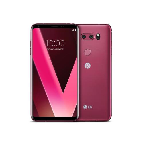 LG V30 in Raspberry Rose