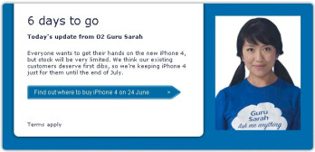 O2 UK plans to sell the iPhone 4 to exisitng customers first; bars new ones