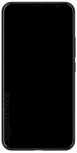 Render allegedly shows the front of the HTC U12 - HTC U12 render surfaces revealing very thin bezels, no front-facing fingerprint scanner
