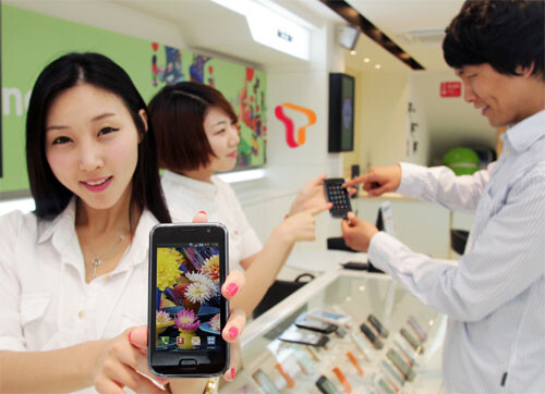 Samsung Galaxy S for the Korean market, SHW-M110S, is ...