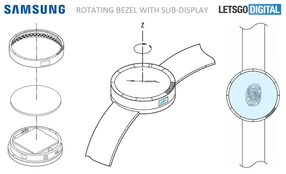 Samsung Gear S4 could feature watch straps with integrated battery, fingerprint sensor