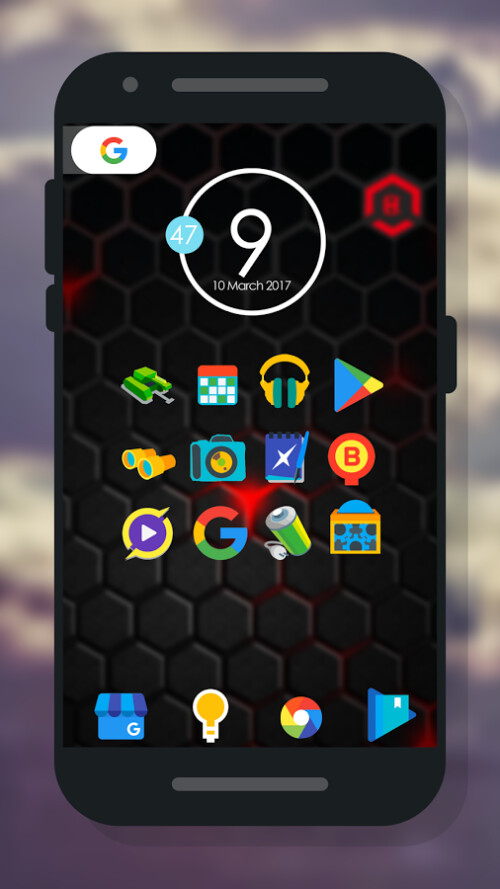 Rumber icon pack