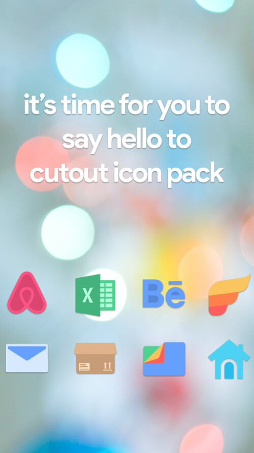 Cutout icon pack