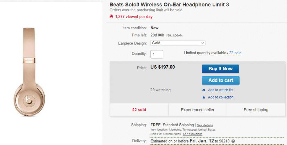 Deal: Apple's Beats Solo3 wireless headphones are on sale for less than $200 ($100 off)