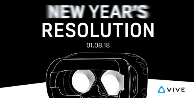 Tweet disseminated by HTC hints at unveiling of a new version of the Vive VR headset this Monday at CES - Tweet from HTC teases new Vive model to be unveiled this coming Monday at CES