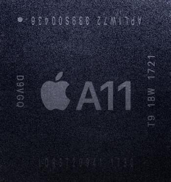 The A11 bionic chipset is produced by TSMC