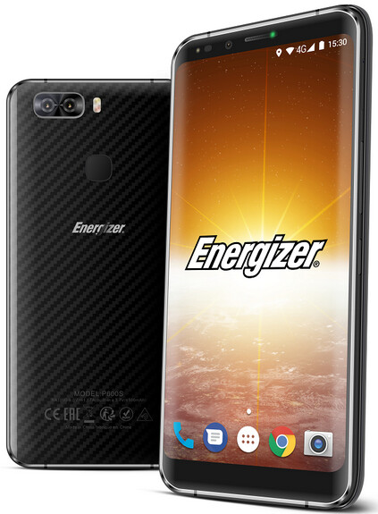A 4500mAh battery is inside the Energizer Power Max P600S - Energizer Power Max P600S unveiled; handset carries a 4500mAh battery
