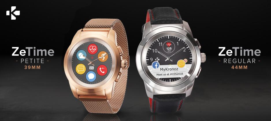 After stellar crowdfunding campaign, MyKronoz launches the unique ZeTime hybrid smartwatch