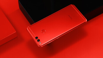 Limited edition Honor 7X Red coming to the US just in time for Valentine's Day