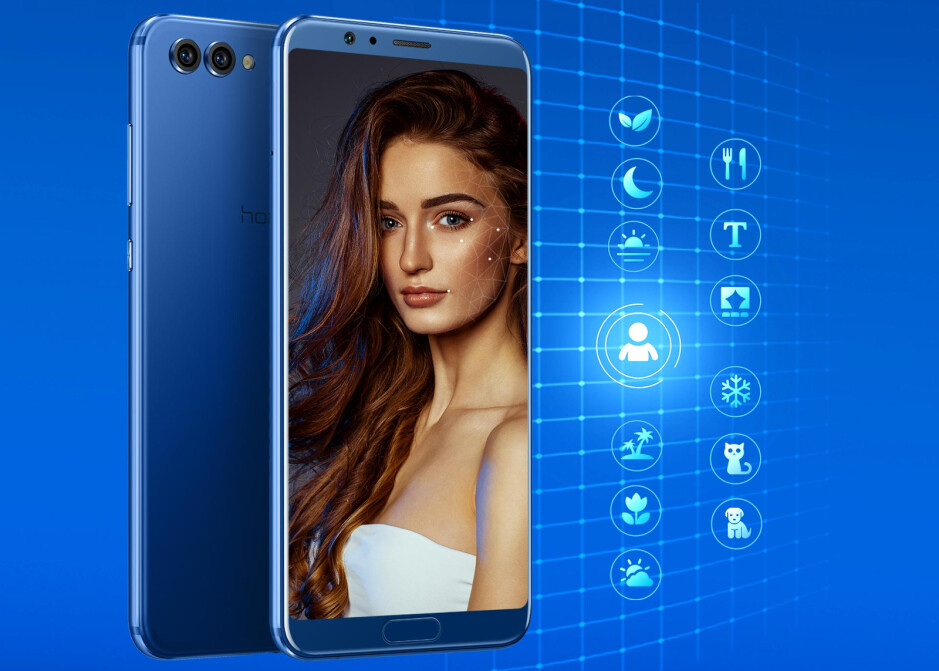 """Honor launches """"your first AI phone"""": the Honor View 10"""