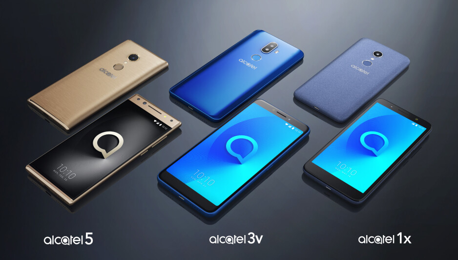 Alcatel reveals its 2018 smartphone lineup, promises immersive 18:9 display experience