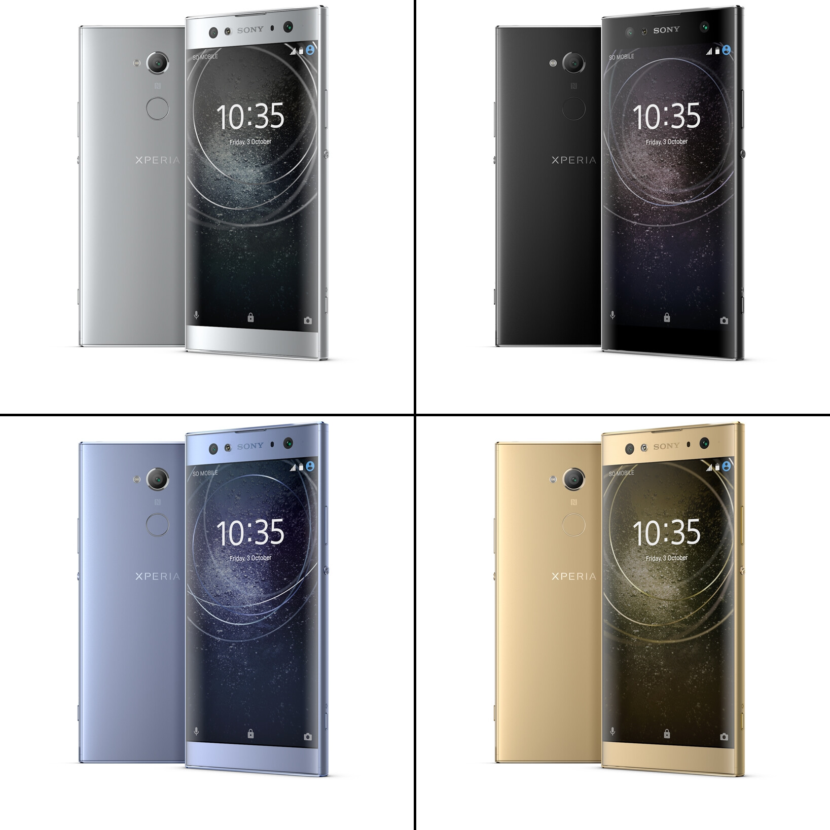 Traditions matter: Sony announces the Xperia XA2 and ...