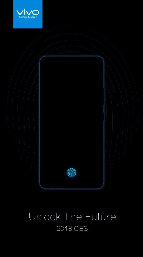 The first phone with in-screen fingerprint reader will be unveiled on January 10th