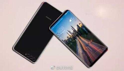 Alleged Huawei P20 renders