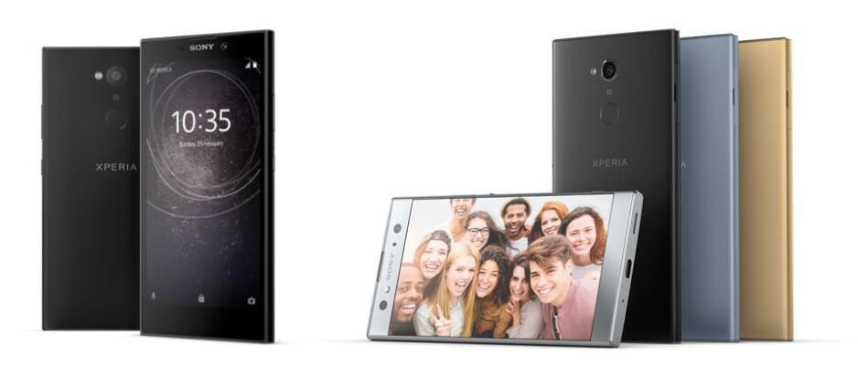 Xperia L2 (left), Xperia XA2 (right) - CES 2018: the best new phones, tablets, wearables and headphones