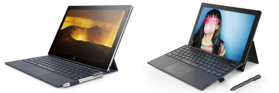 HP Envy x2 (left), Lenovo Miix 630 (right) - CES 2018: the best new phones, tablets, wearables and headphones