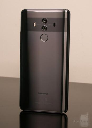 The Huawei Mate 10 Pro in Titanium Grey