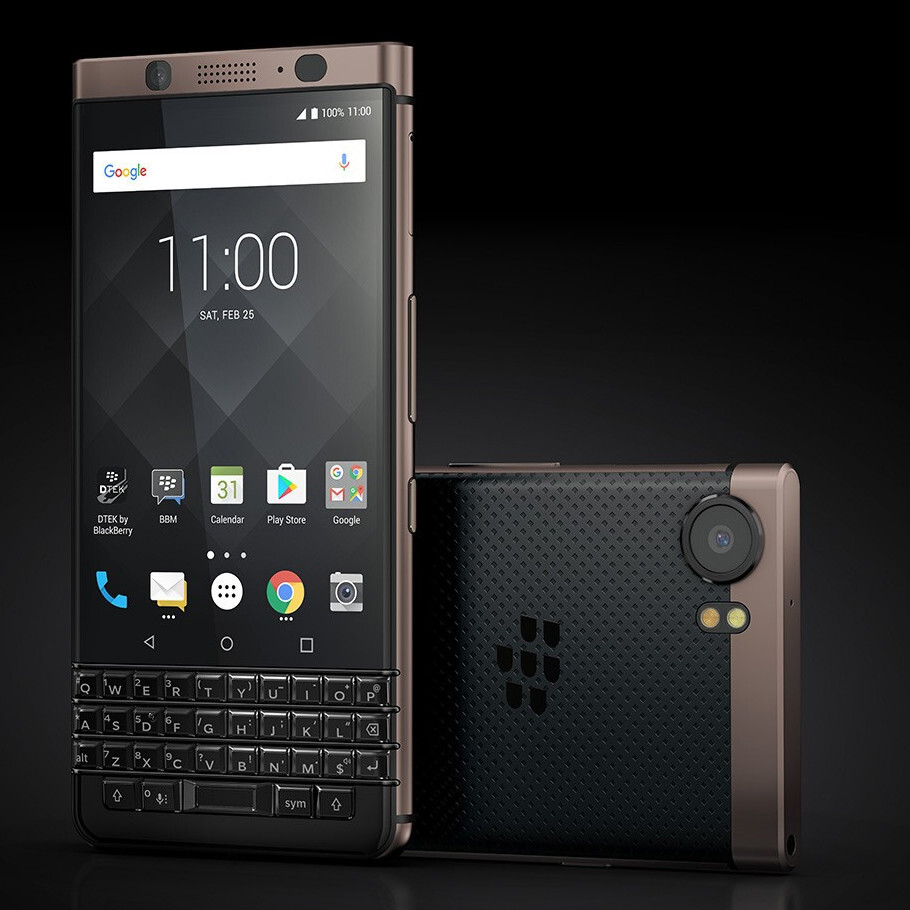 BlackBerry KEYone Bronze Edition unveiled, two new BlackBerry phones coming in 2018