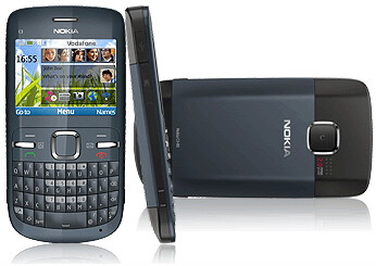 Nokia C3 takes sail with Vodafone UK as a Pay As You Go option