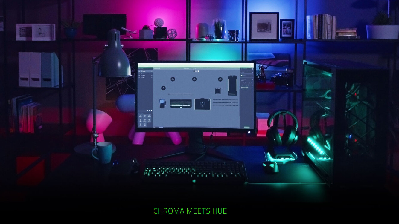 Philips Releases Hue Sync software to synchronize light with your PC activity