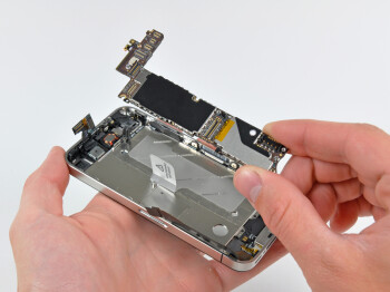Apple iPhone 4 being disassembled