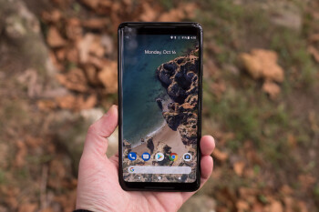 The Google Pixel 2 XL is great software, bad design