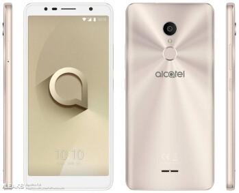 Alcatel 3c leaked out in press renders ahead of MWC 2018 unveiling