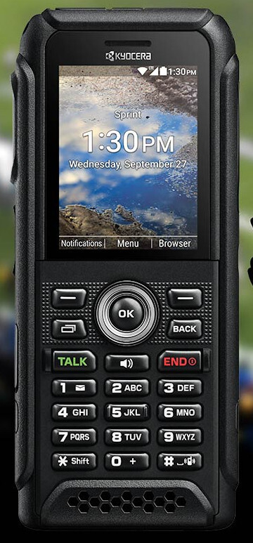 Kyocera DuraTR is the toughest feature phone you can now buy at Sprint