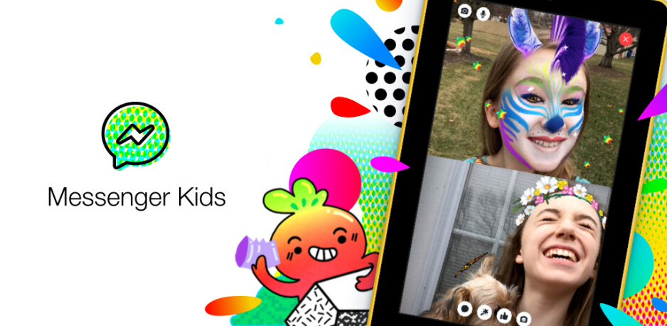 Facebook's child-friendly Messenger Kids app launches on Amazon Fire tablets in the U.S.