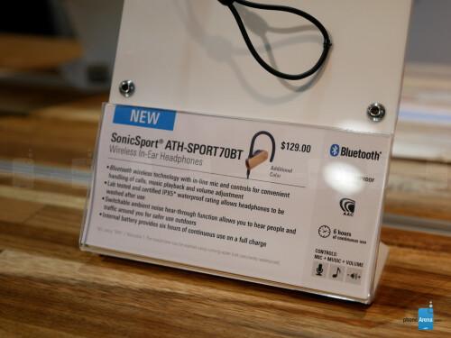 AudioTechnica SonicSport ATH-SPORT70BT