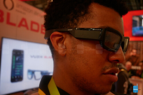 Vuzix Blade and M300 hands-on