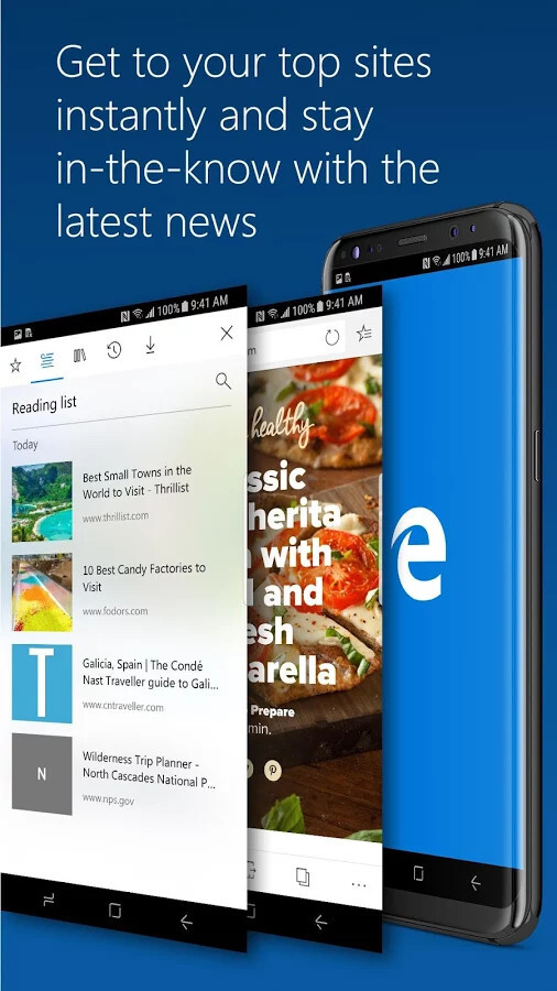 Microsoft Edge update adds support for Android 8.0 Oreo adaptive icons, more