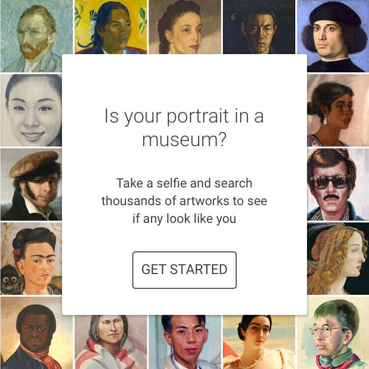 Google Arts & Culture App Can Match Your Selfie to Fine Art