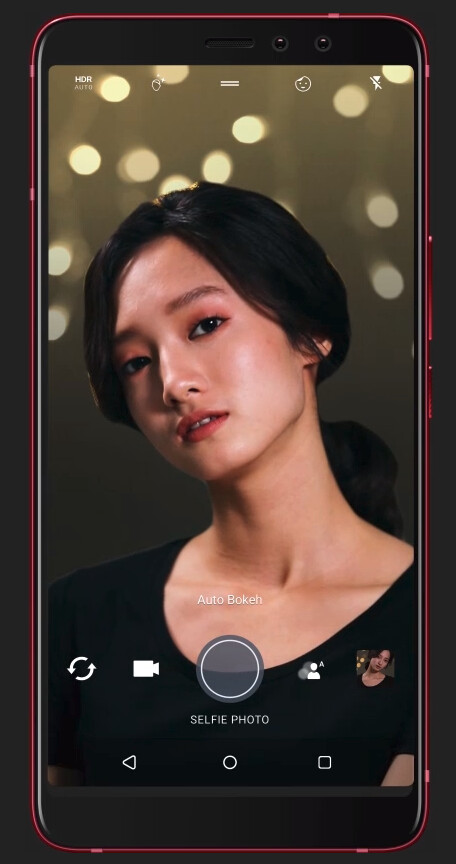 Selfie bokeh - HTC's new selfie phone announced: dual front cameras, currently exclusive to China