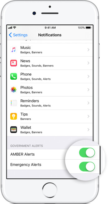 Juke the nuke: How to make sure emergency broadcasts & AMBER alerts on your iOS/Android phone are enabled
