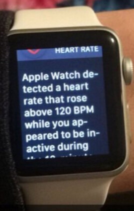 Apple Watch alerts Vikings fan who just saw his team win in the last second - Following shocking finish, Apple Watch warns several Vikings fans about their heart