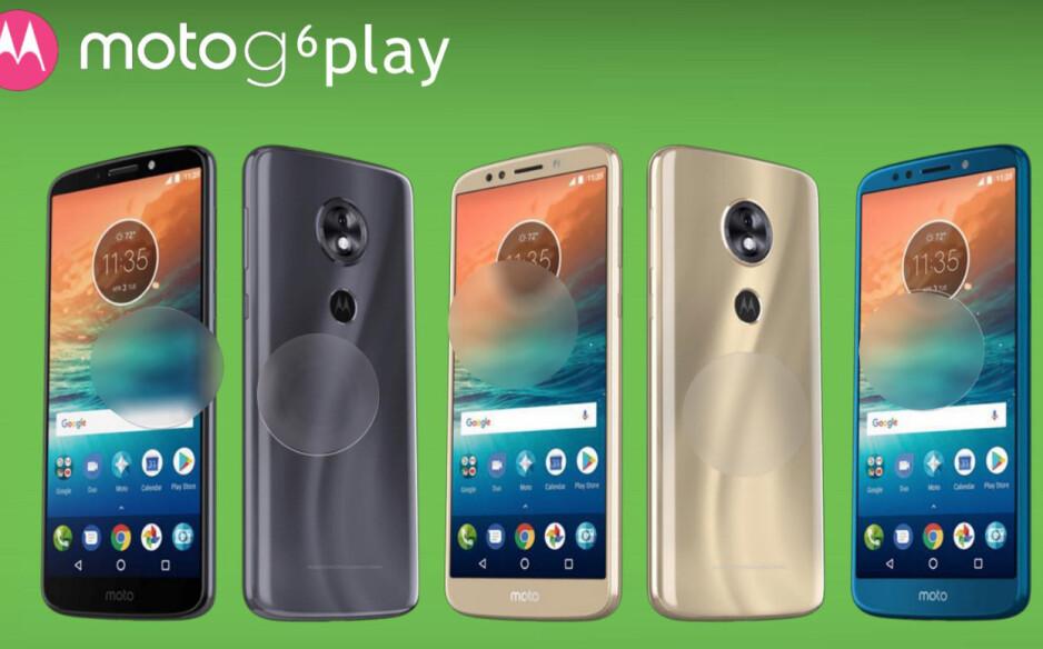 Motorola's new G6 lineup – Moto G6, Moto G6 Plus and Moto G6 Play, gets leaked