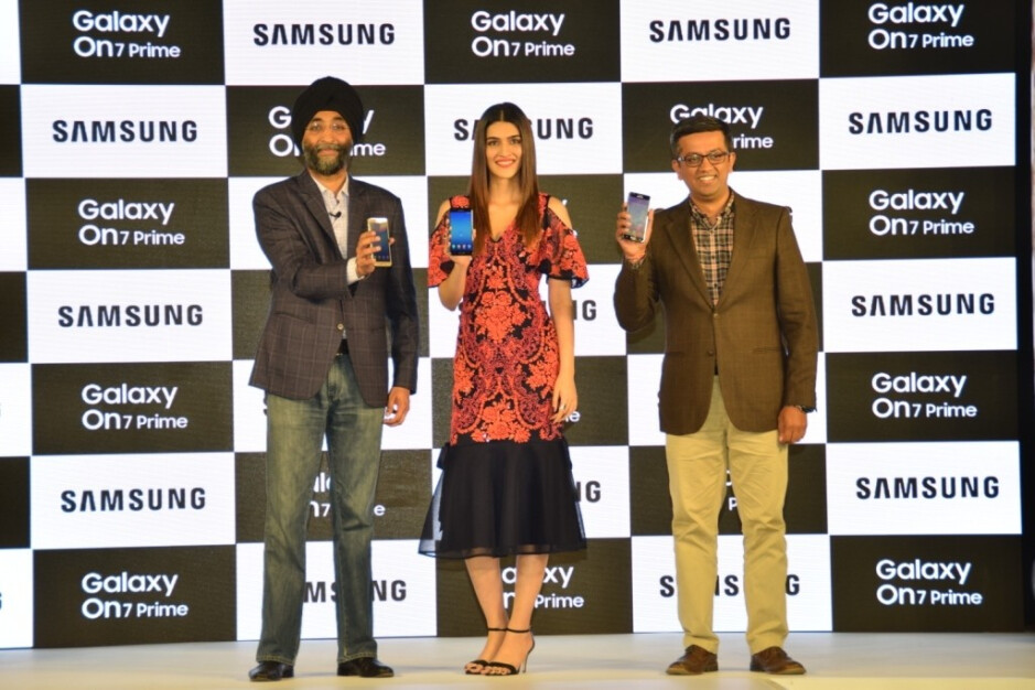 Samsung unveils the Galaxy On7 Prime in India with Samsung Mall pre-installed - Samsung Galaxy On7 Prime unveiled in India with Samsung Mall pre-installed