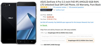 Deal: Asus ZenFone 4 Pro is now $100 cheaper in the US