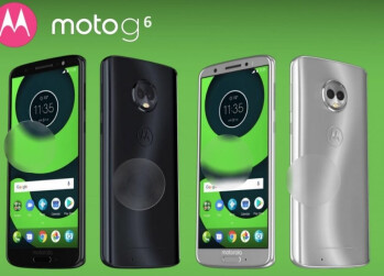 Possibly a leaked image of the Moto G6