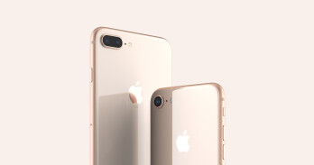 iPhone 8 and 8 Plus in Gold
