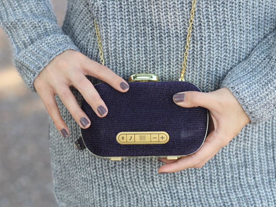 Stelle Mini-Clutch Speaker - Valentine's Day 2018 tech gift guide: here's what to get for your significant other