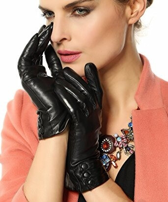 Warmen women's touchscreen gloves