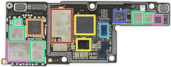 """Sforum - Trang thông tin công nghệ mới nhất iphone-x-teardown Qualcomm bị phạt 1.2 tỷ USD vì """"đi đêm"""" với Apple, độc quyền chip LTE trên iPhone"""