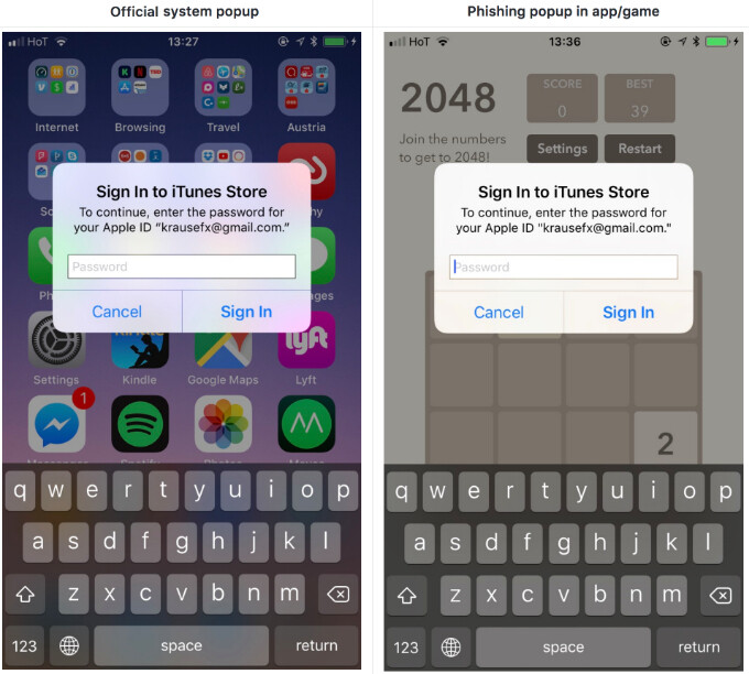 iOS 11.3 features a new Privacy icon to keep your data and Apple ID password safe