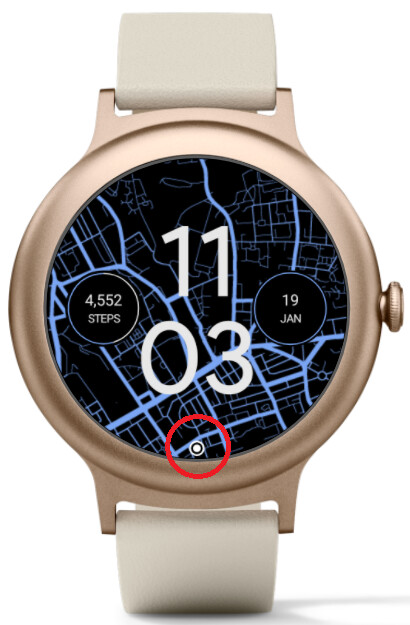 The latest SDK for Android Wear allows developers to add a notification dot to remind users of unread notifications - Android Oreo's notification dots are coming to Android Wear